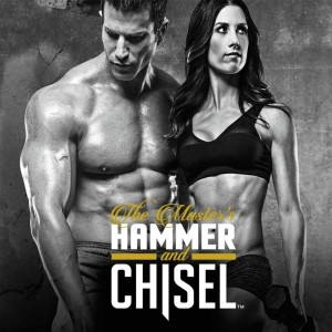 Beachbody's Autum and Sagi Kalev Team up to film the Masters Hammer and Chisel Workout